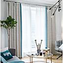 olcso Függönyök ablakra-Európai Magánélet Két panel Függöny Nappali szoba   Curtains / Jacqard