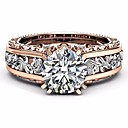 ราคาถูก แหวน-สำหรับผู้หญิง แหวน 1pc สีเขียว ฟ้า โปร่งแสง โลหะผสม แฟชั่น เป็นทางการ เทศกาล เครื่องประดับ