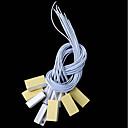 baratos Sensores de Segurança-10 pçs / lote interruptor de contato reed magnético com fio da porta janela aberta sensor de alarme interruptores ímã da porta normal fechado