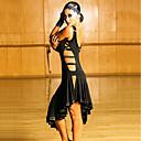 ราคาถูก ชุดออกกำลังกายและชุดโยคะ-ชุดเต้นละติน ชุดเดรสต่างๆ สำหรับผู้หญิง Performance สแปนเด็กซ์ กระโปรงระบาย เสื้อไม่มีแขน ชุดเดรส