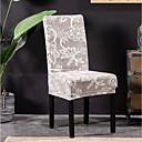 baratos Cobertura de Cadeira-Cobertura de Cadeira Floral Estampado Poliéster Capas de Sofa