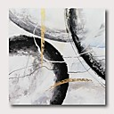 billiga Abstrakta målningar-Hang målad oljemålning HANDMÅLAD - Abstrakt Samtida Moderna Inkludera innerram