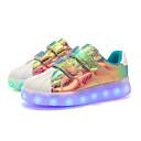 povoljno LED Cipele-Djevojčice LED / Svjetleće tenisice Koža Sneakers Dijete (9m-4ys) / Mala djeca (4-7s) / Velika djeca (7 godina +) LED Obala / purpurna boja / Pink Proljeće / Guma