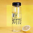 olcso Vízes üvegek-drinkware Üveg üveg Hordozható Casual / hétköznapi