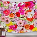 זול תיקי טיולים-נושא קלאסי קיר תפאורה 100% פוליאסטר מודרני וול ארט, קיר שטיחי קיר תַפאוּרָה