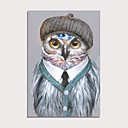 ราคาถูก ภาพวาดสัตว์-ภาพวาดสีน้ำมันแขวนทาสี มือวาด - แอ็ปสแต็ก งานศิลปะป๊อป ร่วมสมัย ที่ทันสมัย รวมถึงด้านในกรอบ
