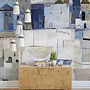 Χαμηλού Κόστους Απλίκες Τοίχου-ταπετσαρία / Τοιχογραφία / Παντόφλες Καμβάς Κάλυψης τοίχων - κόλλα που απαιτείται Φλοράλ / Art Deco / 3D
