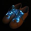 ราคาถูก จุกหัวเกียร์-แปลกใหม่เชือกผูกรองเท้าแสงกระพริบแสงพรรค led เรืองแสงส่องสว่างโคมไฟแฟชั่น