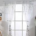 ราคาถูก ม่านปรับแสง-ร่วมสมัย Sheer หนึ่งช่อง Sheer ห้องนั่งเล่น   Curtains