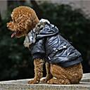 povoljno Odjeća za psa-Psi Kaputi Odjeća za psa Jednobojni Fuksija Zelen Crno Terilen Kostim Za korgi Bigl Buldog Jesen Zima Muška Ležerno / za svaki dan Grijači