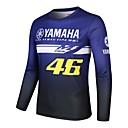 povoljno Motociklističke rukavice-yamaha 46 moto gp team muška utrka nosi majicu za jahanje dresa
