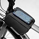 povoljno Torbice za okvir-1.5 L Mobitel Bag Bike Frame Bag Vodootporno Prijenosno Podesan za nošenje Torba za bicikl 600D poliester Torba za bicikl Torbe za biciklizam iPhone X / iPhone XR / iPhone XS Vježbanje na otvorenom