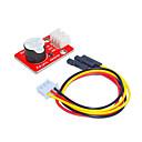 baratos Módulos-ky0042 buzzer ativo (vermelho) terminal branco com fio de 3 pinos dupont