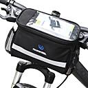 Χαμηλού Κόστους Τσάντες για σκελετό ποδηλάτου-ROSWHEEL 4.5 L Τσάντα για τιμόνι ποδηλάτου Υδατοστεγανό Φοριέται Αντικραδασμική Τσάντα ποδηλάτου PVC 600D πολυεστέρα Τσάντα ποδηλάτου Τσάντα ποδηλασίας Samsung Galaxy S6 / iPhone 4/4S / LG G3