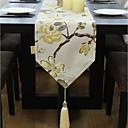 olcso Keresztpántos táskák-Kortárs Nem szőtt Négyzet Asztali futók Virágos Asztali dekorációk