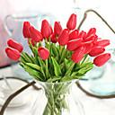billiga Artificiell Blomma-Konstgjorda blommor 10 Gren Klassisk Europeisk Minimalistisk Stil Tulpaner Eviga Blommor Bordsblomma