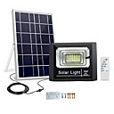 billige Bil-lader-nyhet solpanel ladning LED lys 10w utendørs vanntett hage lampe flom lys street spotlight natt sensor fjernkontroll