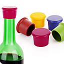 billige Vin Tilbehør-Silikon Vinpropper Bærbar Lett å bære Vin barware