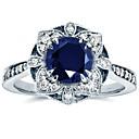 Χαμηλού Κόστους Μοδάτο Δαχτυλίδι-Γυναικεία Δαχτυλίδι Cubic Zirconia 1pc Πράσινο Μπλε Χαλκός Geometric Shape Στυλάτο Πολυτέλεια Ευρωπαϊκό Πάρτι Δώρο Κοσμήματα Κλασσικό Δαχτυλίδι κοκτέιλ Απίθανο