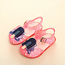 billige Undertøy og sokker til jenter-Jente Pastsandal PVC Sandaler Toddler (9m-4ys) / Små barn (4-7år) Gul / Rød / Blå Sommer