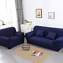 billige Sofa Trekk-Sofatrekk Ensfarget Pigment Tryk Polyester slipcovere