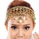 baratos Acessórios de Dança-Acessórios de Dança Decoração de Cabelo Mulheres Espetáculo PVC Coração / Laços Étnico / Fantasias Peça para Cabeça