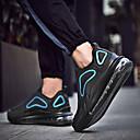 baratos Sapatos Esportivos Masculinos-Homens Sapatos Confortáveis Tecido elástico Primavera Verão Casual Tênis Absorção de choque Preto / Vermelho / Azul