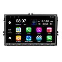 billige DVD-spillere til bilen-Factory OEM YYD-9020G 9 tommers 2 Din Android 7.1 I-Instrumentpanel Kvadro-Kjerne til Volkswagen RCA / Lyd / GPS Brukerstøtte MOV / VOB / RMVB mp3 / WMA / WAV jpeg / GIF / BMP
