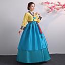 ราคาถูก ชุดพื้นบ้าน ชุดท้องถิ่น-Hanbok Girl ผู้ใหญ่ สำหรับผู้หญิง เอเชียน ภาษาเกาหลีแบบดั้งเดิม jeogori ฮันบก Magoja สำหรับ Performance งานหมั้น งานเลี้ยงเจ้าสาว Polyster ความยาว กระโปรง
