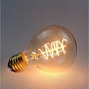 Χαμηλού Κόστους Πυράκτωσης-1pc 40 W E26 / E27 G80 Κίτρινο 2300 k Ρετρό / Με ροοστάτη / Διακοσμητικό Λαμπτήρας πυρακτώσεως Vintage Edison 220-240 V