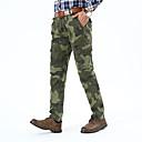 ราคาถูก กางเกงปีนเขาและกางเกงขาสั้น-สำหรับผู้ชาย Hiking Pants อำพราง กลางแจ้ง แห้งเร็ว ลื่น ความต้านทานการสึกหรอ ฤดูใบไม้ร่วง ฤดูใบไม้ผลิ ฤดูร้อน ฝ้าย กางเกง การเดินเขา แคมป์ปิ้ง สีเขียว สีเทา สีกากี 34 36 38