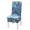 baratos Cobertura de Cadeira-Cobertura de Cadeira Floral / Clássico Estampado Poliéster Capas de Sofa