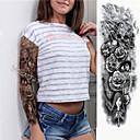 billiga Temporära tatueringar-1 pcs tillfälliga tatueringar Miljövänlig / Engångsvara Kropp / brachium / Ben Kortpapper Tatueringsklistermärken