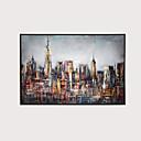 povoljno Apstraktno slikarstvo-Print Stretched Canvas Prints - Moderna Moderna Umjetničke grafike