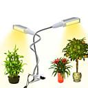 ราคาถูก ไฟปลูกพืช-1pc 12 W 300 lm 96 ลูกปัด LED Full Spectrum โคมไฟที่กำลังเติบโต สีเหลืองอุ่น 85-265 V