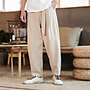 Χαμηλού Κόστους Τζάκετ Ποδηλασίας-Ανδρικά Pantaloni de Alergat Αθλητικά παντελόνια Track Pants Υφαντά παντελόνια Βράκα Κορδόνι Αθλητισμός Αθλητικές Φόρμες Γυμναστήριο προπόνηση Ελαφρύ Γρήγορο Στέγνωμα Μεγάλα Μεγέθη Μονόχρωμο