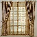 billige Gardiner-Europeisk Blackout Et panel Gardin Stue   Curtains