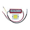 Χαμηλού Κόστους LEDs-Υψηλής ισχύος τσιπ 100w με οδηγημένο τροφοδοτικό για οδηγό 100-240v