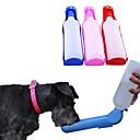 ราคาถูก ถ้วยใส่อาหารสุนัข-สุนัข สัตว์เลี้ยง ชามและขวดน้ำ / เครื่องป้อนอาหารสัตว์ 0.5 L พลาสติก Portable กลางแจ้ง เดินทาง ลายบล็อคสี โลลิต้า สีสุ่ม ชามและการให้อาหาร