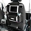 זול אירגוניות לרכב-שקיות אחסון מושב מכונית חדשה שקיות תלייה כיסים לרכב רקמות כיס מחזיק כוס מושב מכונית תיק אחורי משולב שקית אחסון pu