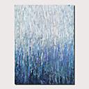 billiga Köksredskap-Hang målad oljemålning HANDMÅLAD - Abstrakt Landskap Samtida Moderna Inkludera innerram