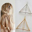 Χαμηλού Κόστους Κοσμήματα Μαλλιών-Γυναικεία Μονόχρωμο Geometric Γραφείο χαριτωμένο στυλ Κράμα
