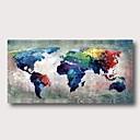 Χαμηλού Κόστους Εκτυπώσεις-Hang-ζωγραφισμένα ελαιογραφία Ζωγραφισμένα στο χέρι - Αφηρημένο Σύγχρονο Μοντέρνα Περιλαμβάνει εσωτερικό πλαίσιο