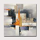 זול ציורים מופשטים-ציור שמן צבוע-Hang מצויר ביד - מופשט קלסי מודרני כלול מסגרת פנימית