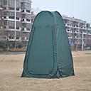 Χαμηλού Κόστους Σκηνές και υπόστεγα-1 άτομο Οικογενειακή Σκηνή Κατασκηνώσεων Εξωτερική Αντιανεμικό Ανθεκτικό στην υπεριώδη ακτινοβολία Αδιάβροχο Μονής επίστρωσης Αυτόματο Camping Σκηνή 1000-1500 mm για