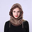 billiga Huvudbonader för damer-Unisex Aktiv Grundläggande söt stil Solhatt-Akryl Enfärgad Höst Vinter Marinblå Grå Khaki grön