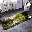 זול מחצלות ושטיחים-1pc קאנטרי משטחים לאמבט אלמוגים פרחוני 5mm חדר אמבטיה ללא החלקה / קל לנקות