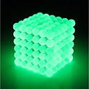 billiga Jewelry Set-216 pcs 3 mm Magnetleksaker Magnetisk leksak Magnetiska kulor Magnetleksaker Superstarka neodymmagneter Puzzle Cube Neodymmagnet Självlysande Stress och ångest Relief Focus Toy Office Desk Leksaker