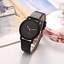ราคาถูก รองเท้าแตะผู้หญิง-สำหรับผู้หญิง นาฬิกาตกแต่งข้อมือ นาฬิกาอิเล็กทรอนิกส์ (Quartz) หนัง สีขาว / ฟ้า / น้ำตาล 30 m กันน้ำ นาฬิกาใส่ลำลอง ระบบอนาล็อก ไม่เป็นทางการ แฟชั่น - สีดำ สีน้ำตาล สีฟ้า