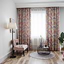olcso 3D függönyök-Kortárs Sötétítő Egy panel Függöny Nappali szoba   Curtains